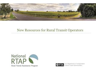 New Resources for Rural Transit Operators