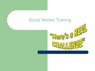 Social Worker Training
