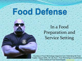 Food Defense