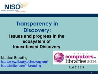 Transparency in Discovery:
