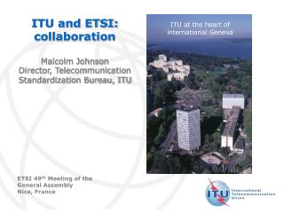 ITU and ETSI: collaboration
