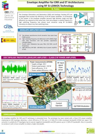 Envelope Amplifier for ERR and ET Architectures  using RF Si-LDMOS Technology