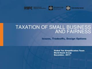 TAXATION OF SMALL BUSINESS AND FAIRNESS