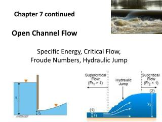 Chapter 7 continued  Open Channel Flow