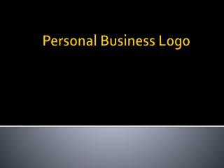 Personal Business Logo