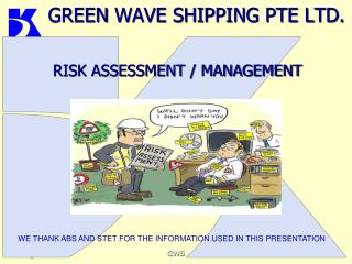 GREEN  WAVE SHIPPING PTE LTD.