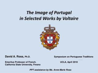 The Image of Portugal  in Selected Works by Voltaire