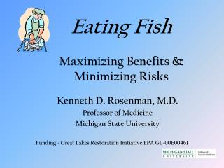 Eating Fish Maximizing Benefits & Minimizing Risks