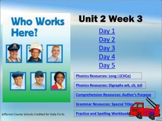 Unit 2 Week 3