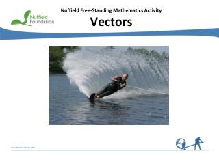 Nuffield Free-Standing Mathematics Activity Vectors