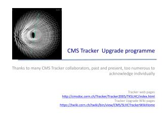 CMS Tracker  Upgrade  programme