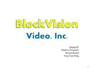 BlockVision Video, Inc.