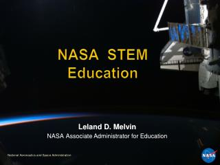 NASA  STEM Education