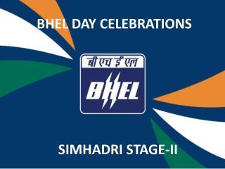 BHEL DAY CELEBRATIONS