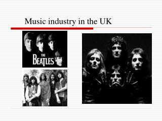 Music industry in the UK