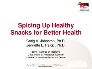 Spicing Up Healthy Snacks for Better Health