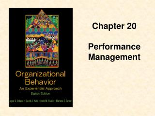 Chapter 20 Performance Management