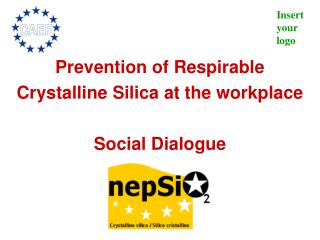 Prevention of Respirable Crystalline Silica at the workplace Social Dialogue