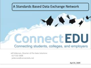 A Standards Based Data Exchange Network