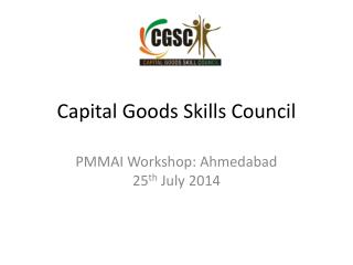 Capital Goods Skills Council