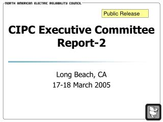 CIPC Executive Committee Report-2