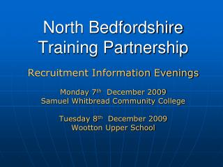 North Bedfordshire Training Partnership