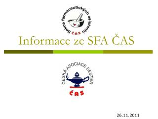 Informace ze SFA ?AS
