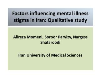 factors influencing mental illness rates in pakistan Farmers' mental health: a review of the literature  farmers' mental health: influencing factors data to indicate there were higher rates of mental health.