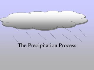 The Precipitation Process