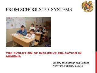 From schools to  systems
