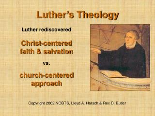 Luther's Theology