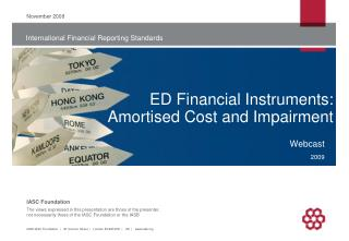 ED Financial Instruments: Amortised Cost and Impairment
