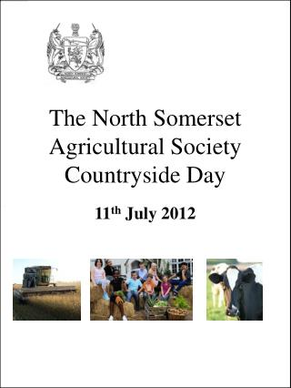 The North Somerset  Agricultural Society Countryside Day