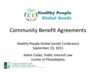 Community Benefit Agreements