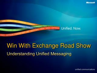 Win With Exchange Road Show