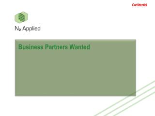 Business Partners  Wanted