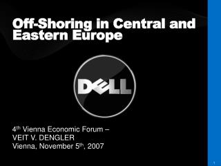 Off-Shoring in Central and Eastern Europe