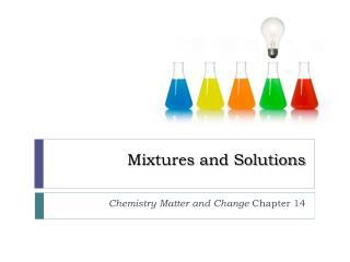 PPT - Mixtures PowerPoint Presentation - ID:2676074