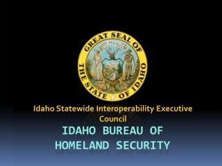 Idaho Bureau of Homeland Security