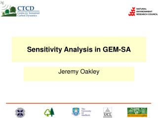 Sensitivity Analysis in GEM-SA