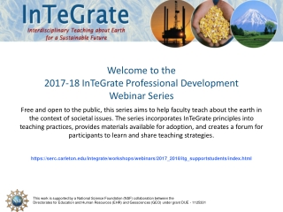 Welcome to the Reframing Webinar on WHAT to Evaluate
