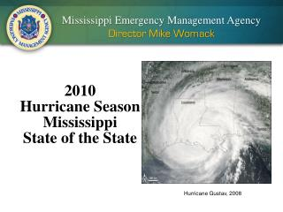 2010 Hurricane Season Mississippi State of the State