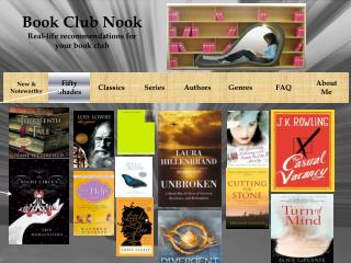 Book Club Nook Real-life recommendations for your book club