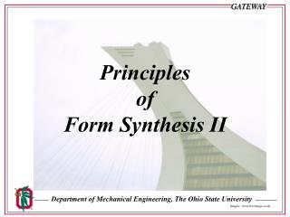 Principles  of  Form Synthesis II