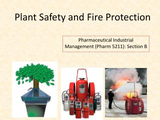 Plant Safety and Fire Protection