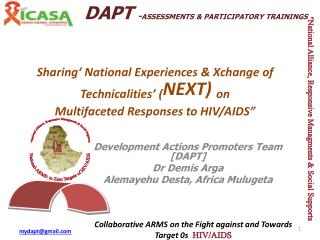 Sharing' National Experiences & Xchange of Technicalities' ( NEXT)  on