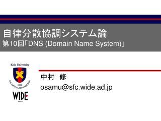 ??????????? ? 10 ?? DNS (Domain Name System) ?