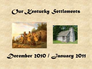 Our Kentucky Settlements