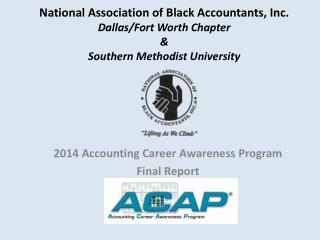 2014 Accounting Career Awareness Program Final Report