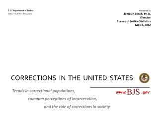 CORRECTIONS  IN  THE  UNITED  STATES